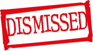Dismissed Cases